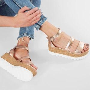 Steve Madden Shoes - STEVE MADDEN Kirsten Flatform Sandal